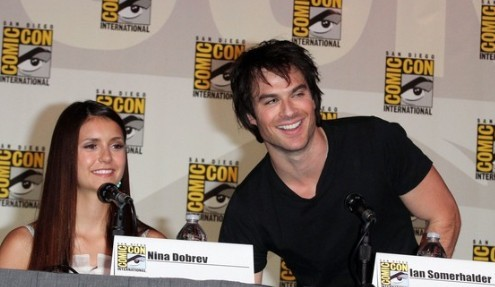 Nina and Ian at Comic-Con ___