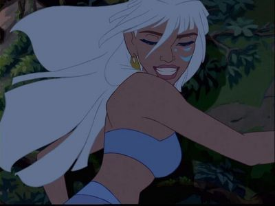 Who voiced Kida?