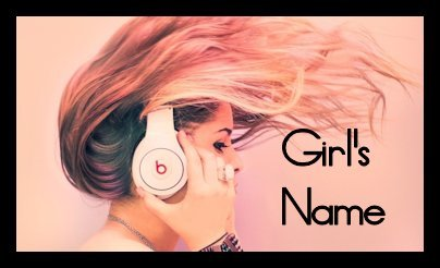 """MATCH THE GIRL'S NAME TO THE SONG : """"Her name is _______"""" (by Shinedown)"""