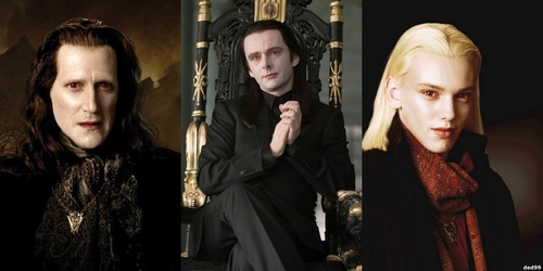 How many human secretaries do the Volturi have throughout the entire saga?