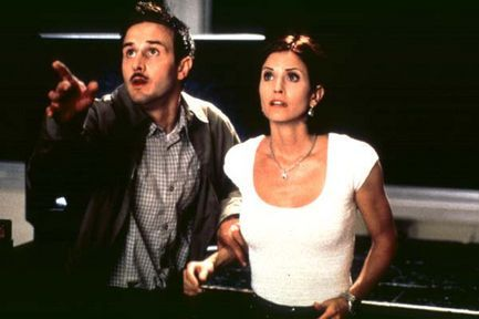 In Scream 2, after seeing Dewey seemingly killed, Who does Gale think the Killer Is?