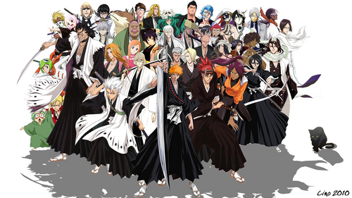 Who is my yêu thích Bleach character(s) from these ?