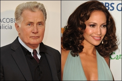Jennifer Lopez co-starred with Martin Sheen in...