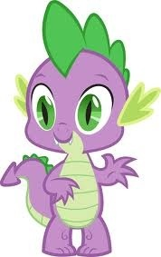 Who does spike have a crush on?