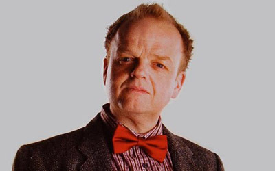 Which protagonist in 'The Hunger Games' does Dream Lord actor Toby Jones portray?