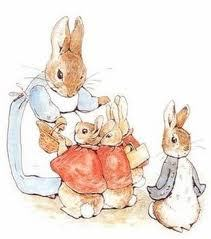 What are the names of Peter Rabbits sisters?