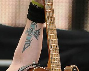 This tattoo belongs to ?