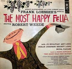 "What are the kursi numbers for the matinee for ""The Most Happy Fellow?"""