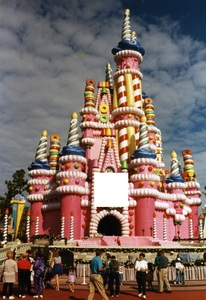 Cinderella's castle in Walt Disney World was decorated as pictured for the ___ anniverary celebration of the park.