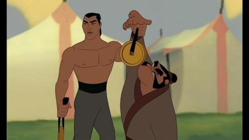Who was originally cast for Li Shang from Mulan?