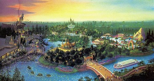 Animal Kingdom originally included a section called ___ in the early 设计 concept.