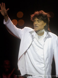 Michael was also a huge admirer of legendary entertainer, Little Richard