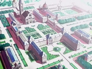 How many librarys does Ouran Academy have?