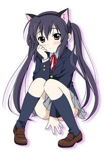 Which character shares the same seiyuu (voice actress) as Azusa Nakano?