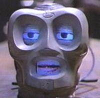 Which two Lexx characters was 790 the robot head infatuated with?