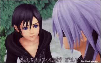 Why did Riku say he saved Xion?