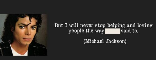 Complete this Michael's quote