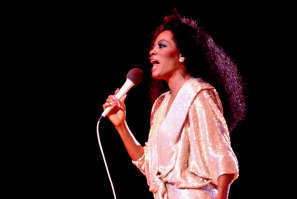 "Diana Ross was a featured vocalist in the 1985, ""We Are The World"" video"