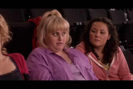 What did Fat Amy just say?