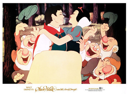 How many years was Snow White and the 7 Dwarfs, the haut, retour au début grossing movie?