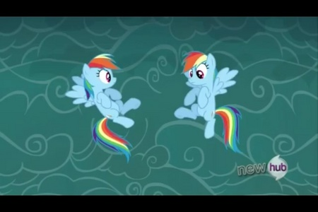 Which rainbow dash is the real one?