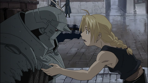 What did Al say to Ed after their first major Fight with Scar? (fmab)