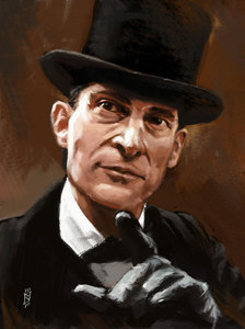 Did anda know Jeremy Brett could sing lovely cinta ballads when he wasn't filming.