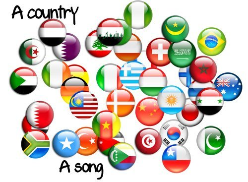 """Match the country to the song : """"Princess of ______"""" (by Coldplay)"""