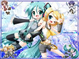 Is Rin and Miku Hatsune Best Friends?