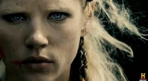 What [sort of woman] is Ragnar's wife [Lagertha]?