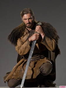 Rollo is based on a real Viking who ended up being the Duke of Normandy and was the Great,Great,Great......? Of William the Conqueror