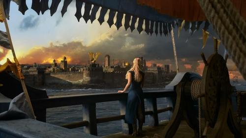 S3E01 Dany is heading to a new city, What is the name of the city?