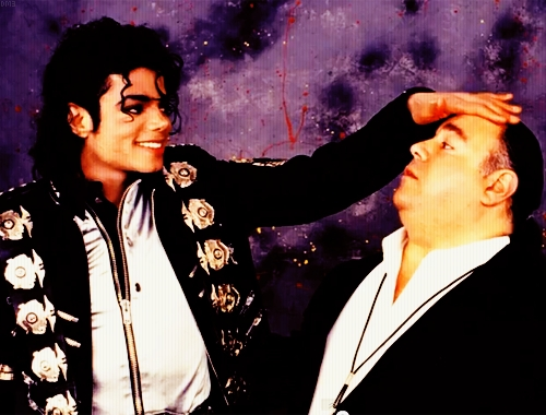 who is the guy with Michael?