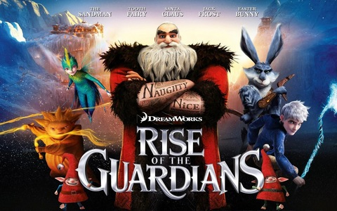 How many soundtracks does the movie Rise of the Guardians have?
