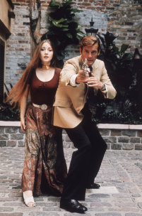 Who is this Bond Girl in the photograph with Sir Roger Moore