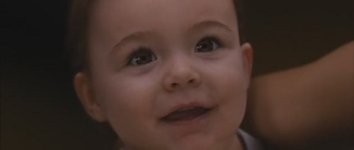 Who is Renesmee looking at?
