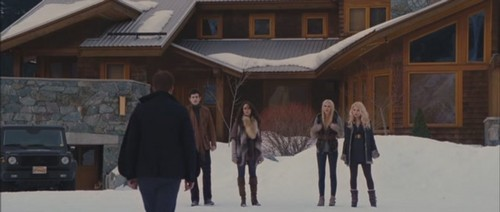 After seeing Renesmee who Denali attack Edward?