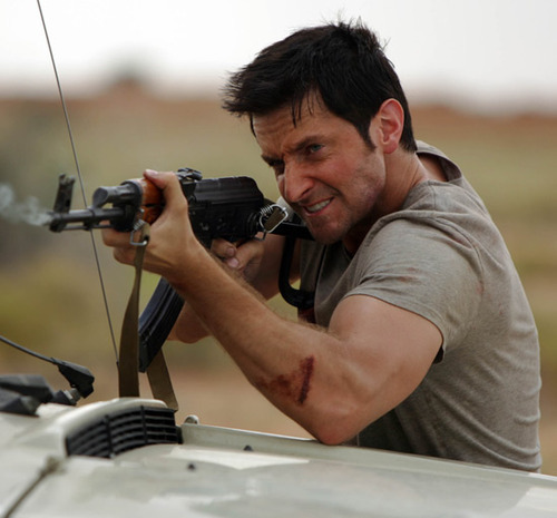 What is the name of his character in Strike Back?