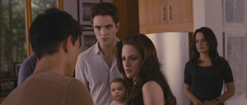 Who did take Renesmee from Bella?