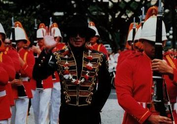 This photograph of Michael was taken while on tour in Honolulu, Hawaii back in 1997