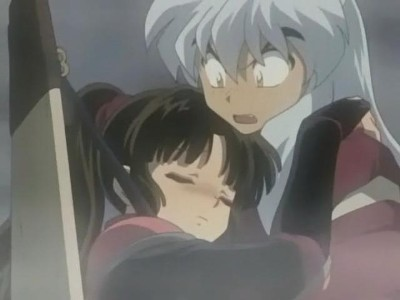 "Which episode of InuYasha does Sango get ""drunk"" in and why?"