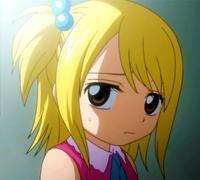 Why is lucy sad in this picture?