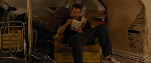 Which book of Ernest Hemingway is Pat reading?