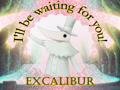 When does Excalibur's legend begin?