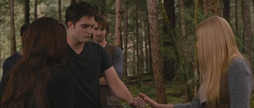 Was Renesmee at this scene?
