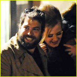 What is the name of Adele's present boyfriend?