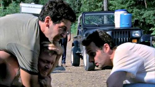 What does Daryl say to Shane after Shane puts him in a chokehold?