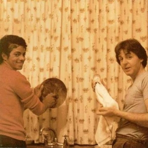 who is the man in the picture with Michael?