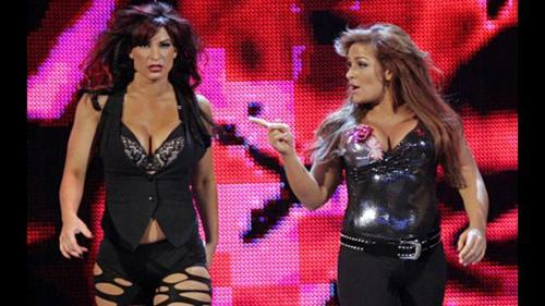What was the name of the group of Natalya and Victoria?