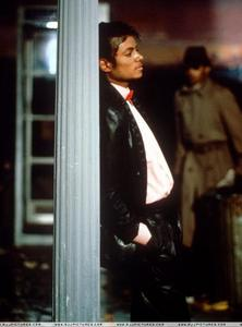 "Behind the scenes in the making of ""Billie Jean"""